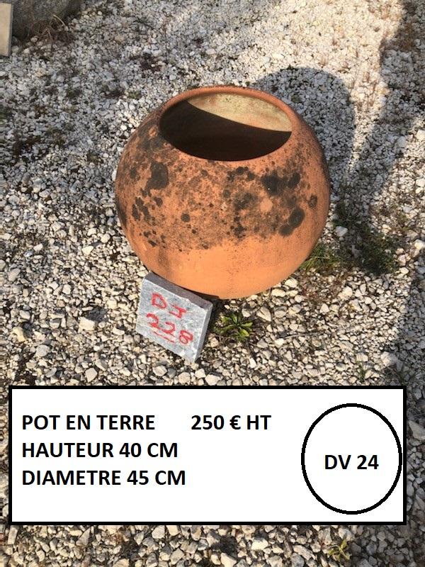 Vase / pot en terre