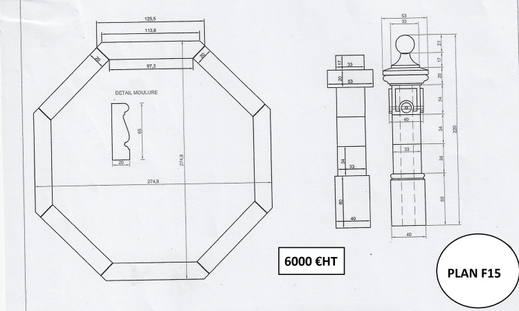 plan fontaine centrale N°15