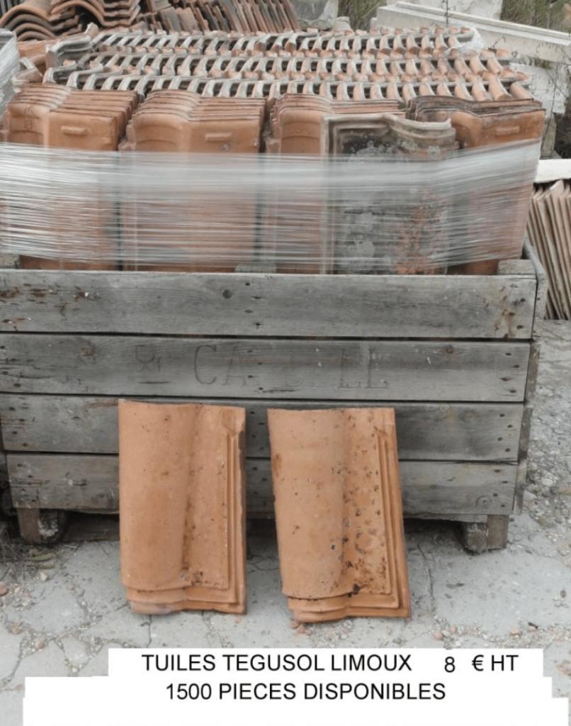 tuile tegusol limoux a vendre occasion lemiere matériaux anciens tuile à vendre dans le vaucluse et la drome