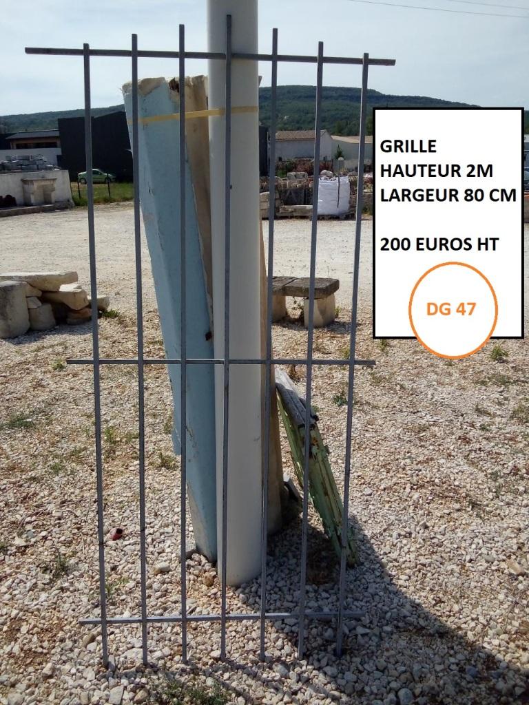 grille hauteur 2m