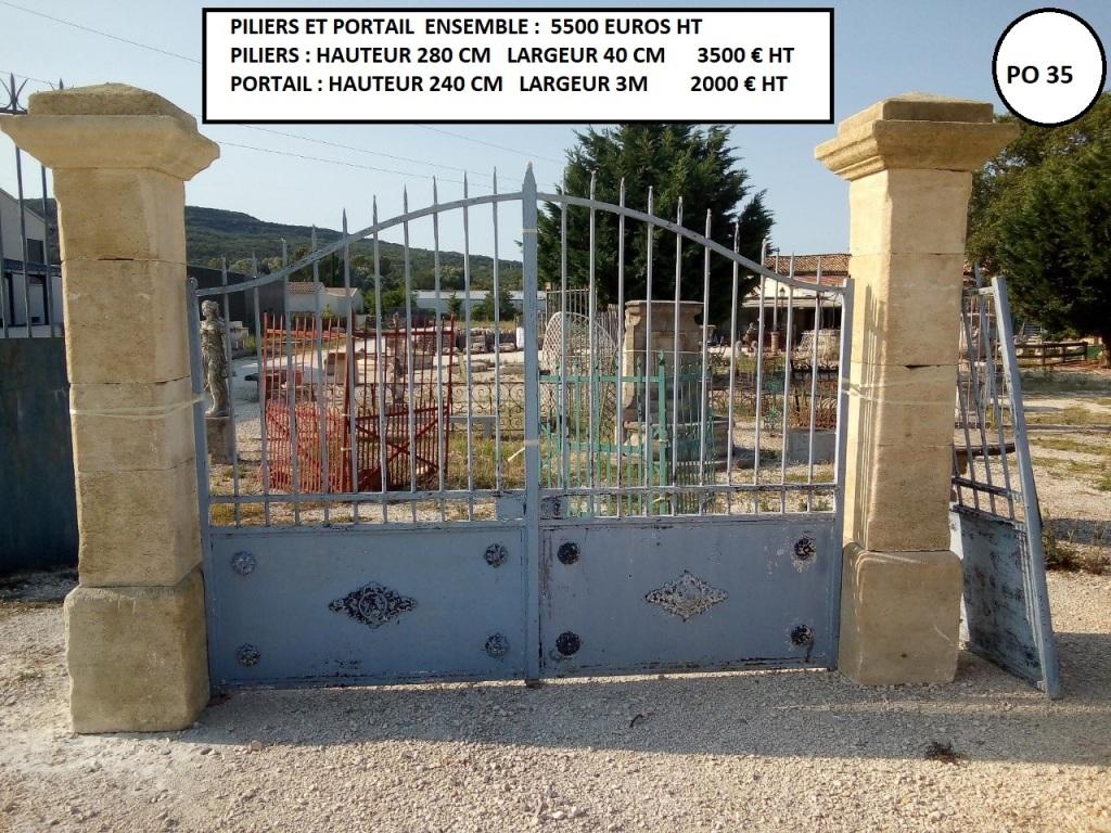 portail largeur 3m